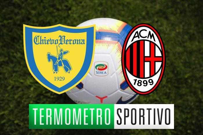 Dove vedere Chievo-Milan in diretta streaming o in TV