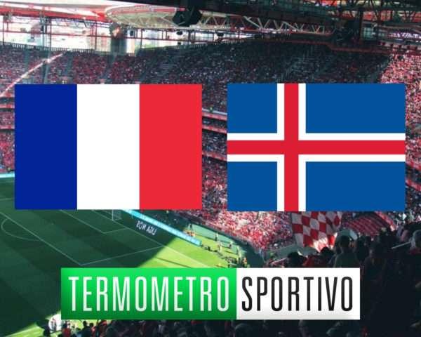 Dove vedere Francia-Islanda in diretta streaming o in tv