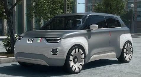 Fiat Centoventi Costo Interni E Versione Elettrica Della Fiat 500