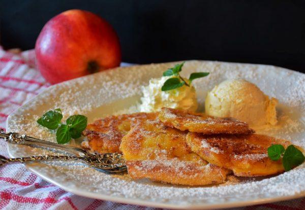 Frittelle di mele al forno ricetta con bimby o uvetta senza latte