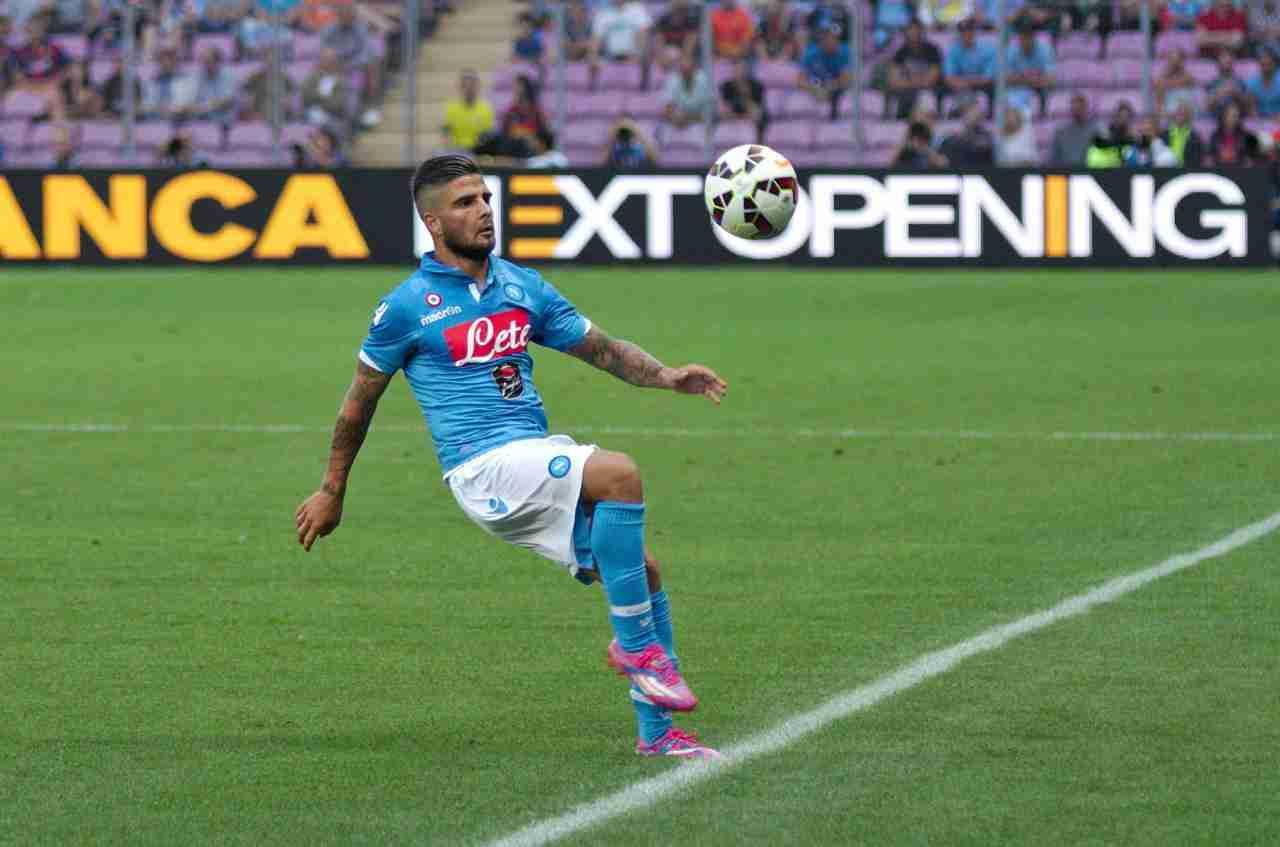Infortunio Insigne il capitano del Napoli out tre settimane