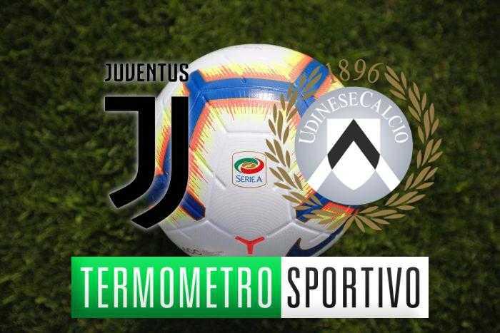 Juventus-Udinese diretta streaming, formazioni e cronaca in tempo reale - LIVE