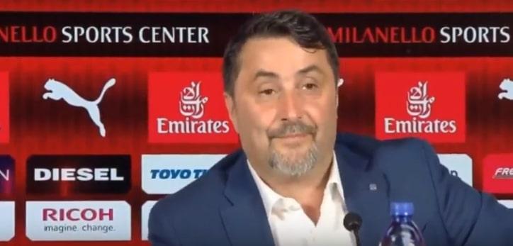 Mirabelli torna a parlare di Milan Orgoglioso di aver messo le basi