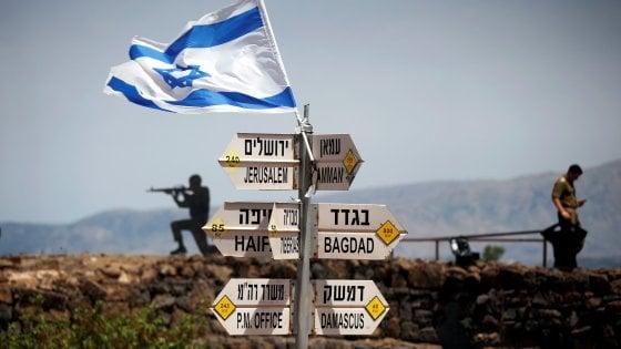 Donald Trump riconosce la sovranità di Israele sul Golan?