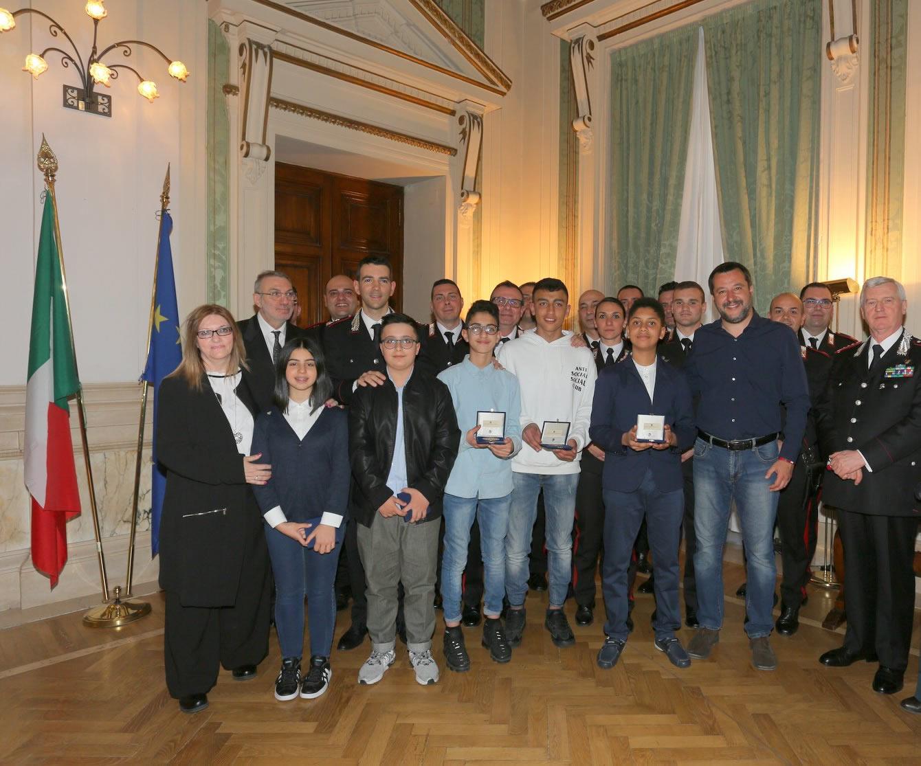 Sì alla cittadinanza italiana, Salvini incontra Ramy e Adam al Viminale