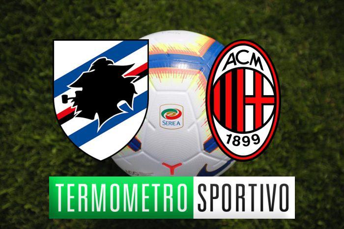 Sampdoria-Milan: Dove vederla in diretta streaming o in tv
