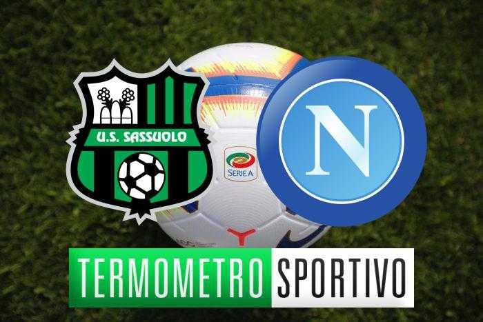 Sassuolo-Napoli probabili formazioni, quote e diretta tv o streaming