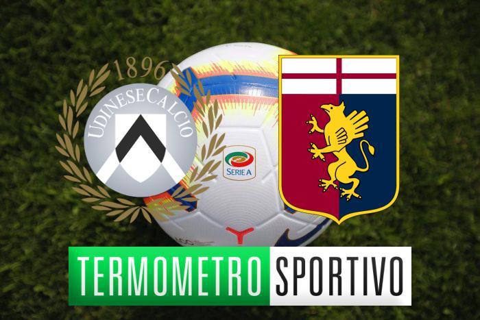 Udinese-Genoa: probabili formazioni, pronostico e diretta tv o streaming