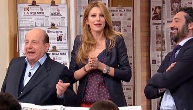 Adriana Volpe contro Magalli. ride bene chi ride ultimo, botta e risposta
