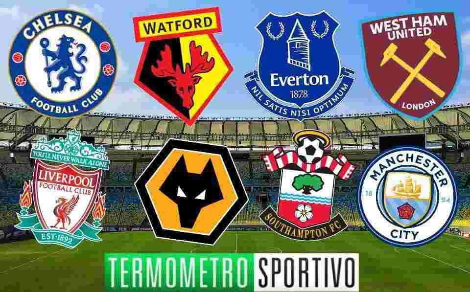 Calendario Premier.Calendario Premier League 2019 Partite Weekend Ed Orari