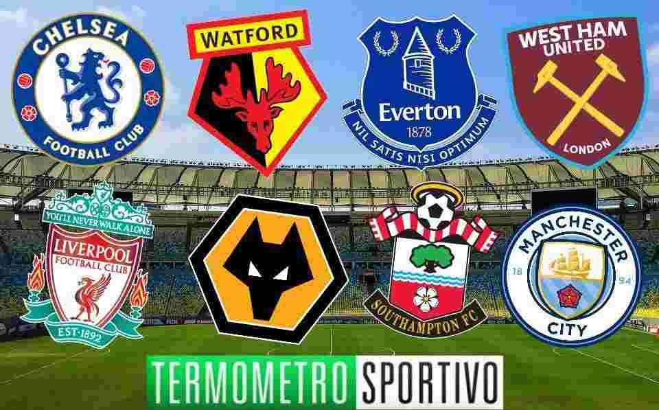 Calendario Partite Premier League.Calendario Premier League 2019 Partite Weekend Ed Orari