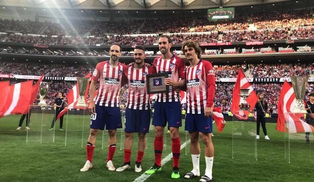 Atlético Madrid, Diego Godin dice addio alla rojiblanca