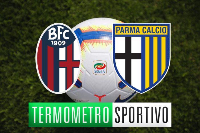 Bologna-Parma streaming, tv, formazioni e risultato - LIVE