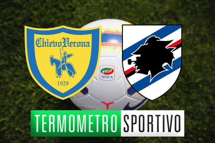 Chievo-Sampdoria: diretta streaming e tv, quote e pronostico