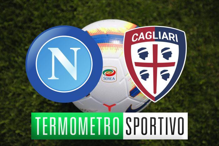 Diretta Napoli-Cagliari: streaming, tv, formazioni e risultato - LIVE