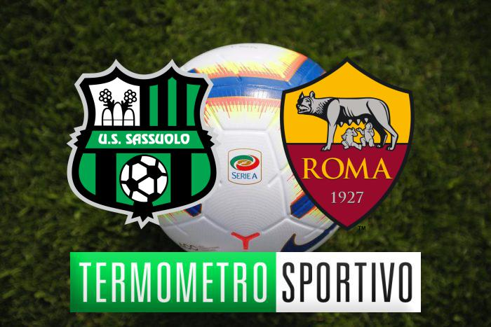 Diretta Sassuolo-Roma: streaming, tv, formazioni e risultato - LIVE