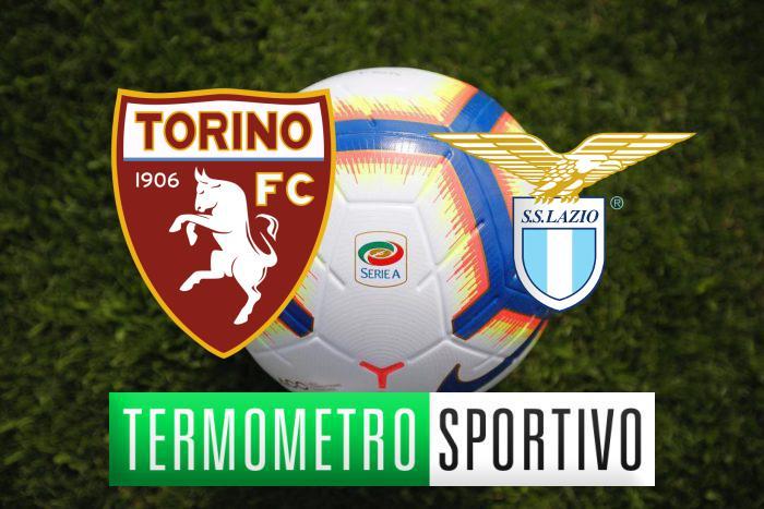 Diretta Torino-Lazio: streaming, tv, formazioni e risultato - LIVE