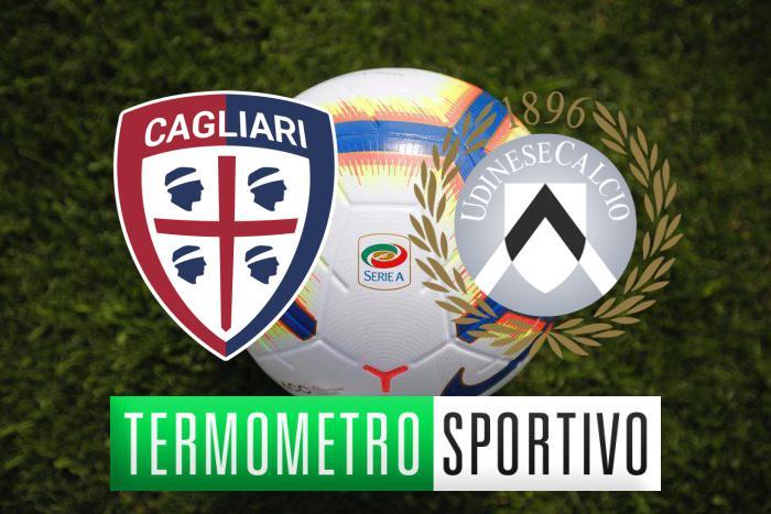 Dove vedere Cagliari-Udinese in diretta streaming o in tv