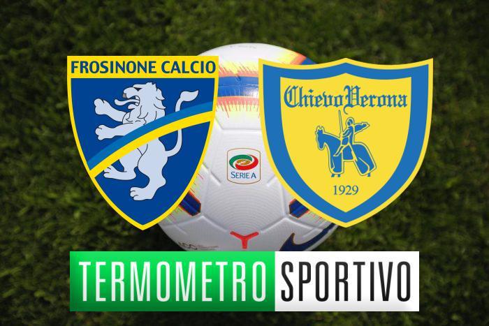 Dove vedere Frosinone-Chievo in diretta streaming o in tv