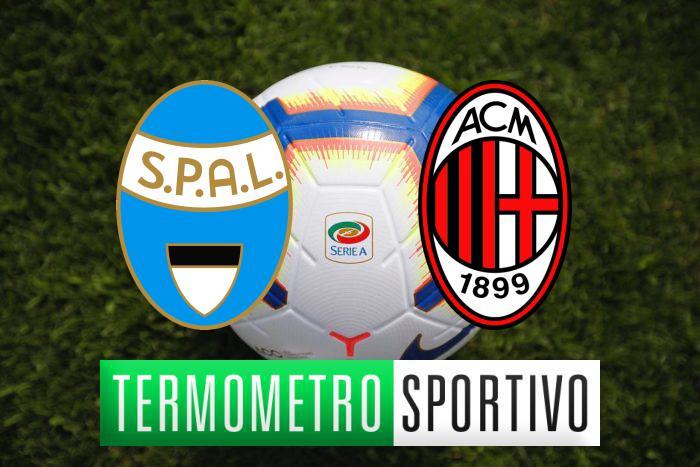 Dove vedere Spal-Milan in diretta streaming o tv