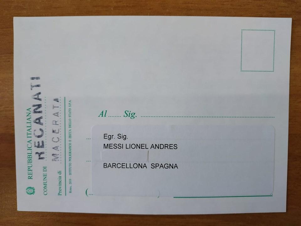 Elezioni europee 2019 tessera elettorale a Lionel Messi, le origini italiane