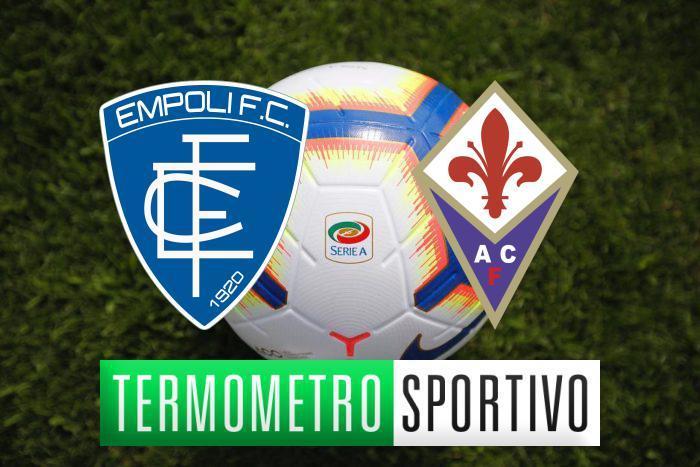 Empoli-Fiorentina: probabili formazioni, pronostico e quote scommesse