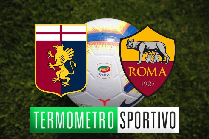 Genoa-Roma: probabili formazioni, pronostico e quote scommesse