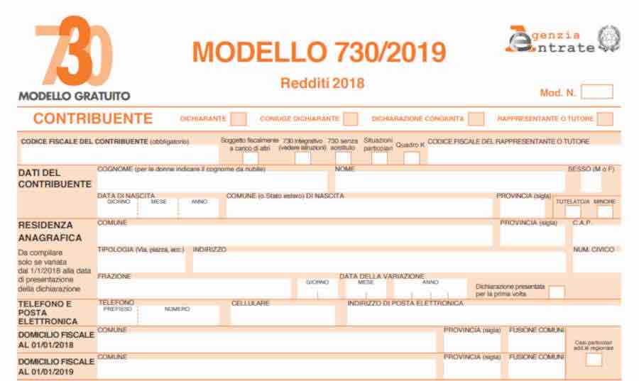 Modello 730 precompilato 2019: invio o modifica da oggi online. Come fare