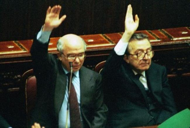 Paolo Cirino Pomicino nel Pd per portare voti
