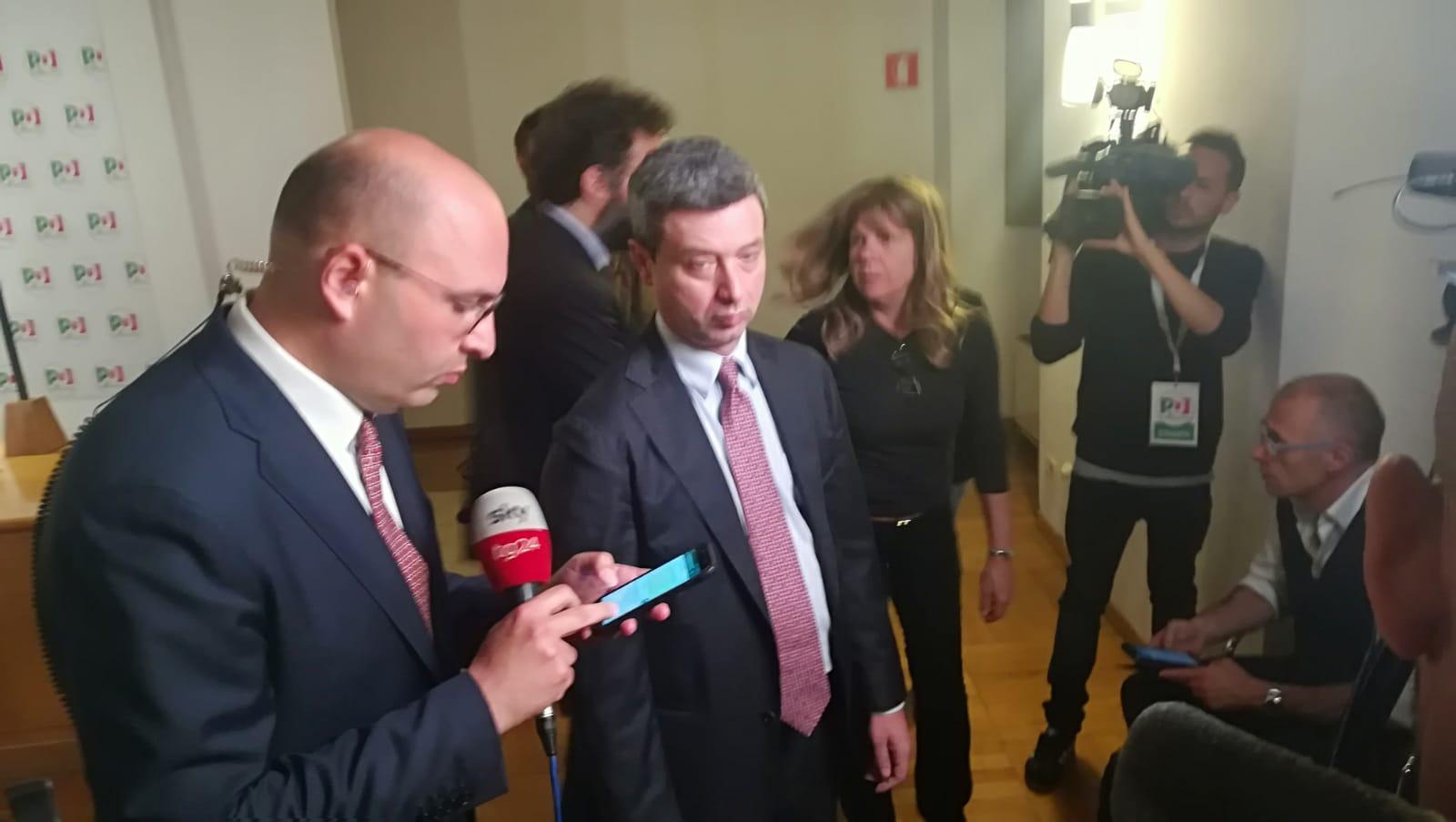 Risultati Elezioni europee PD, Orlando, elettori non hanno creduto a balletto Salvini-Di Maio