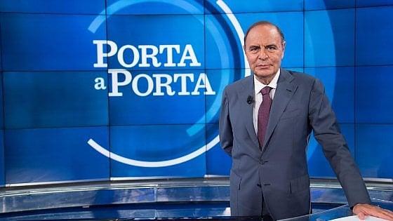 Speciale Porta a Porta: exit poll e proiezioni Opino, ospiti e anticipazioni