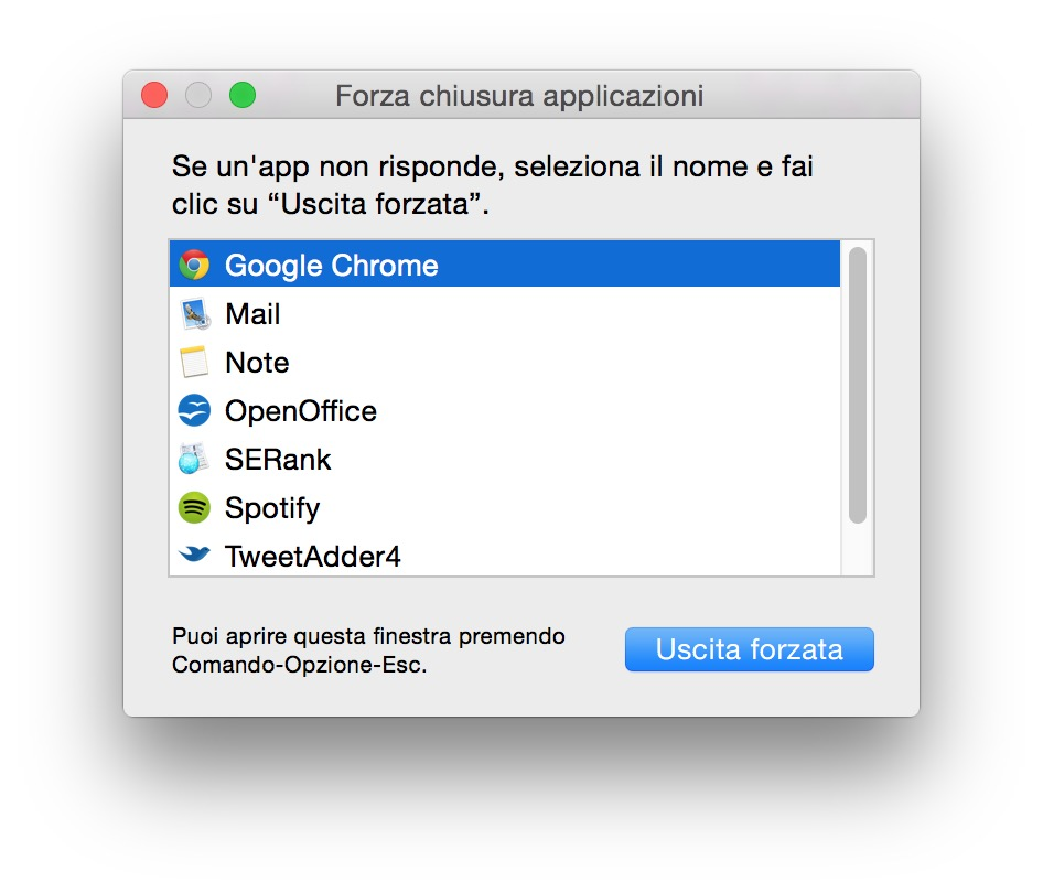 Uscita forzata Mac: come chiudere le app o spegnere il sistema operativo