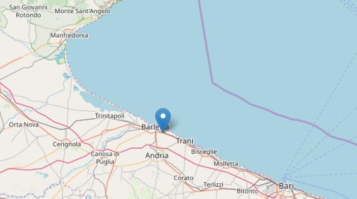 Terremoto Puglia oggi
