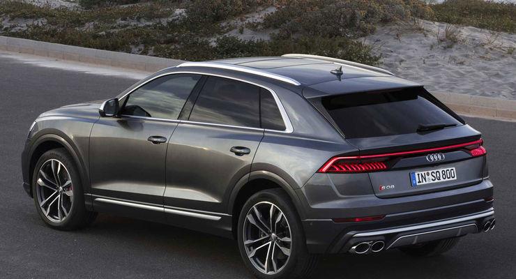 Audi SQ8 Tdi 2019: prezzo, interni e versioni in Italia. Le dimensioni