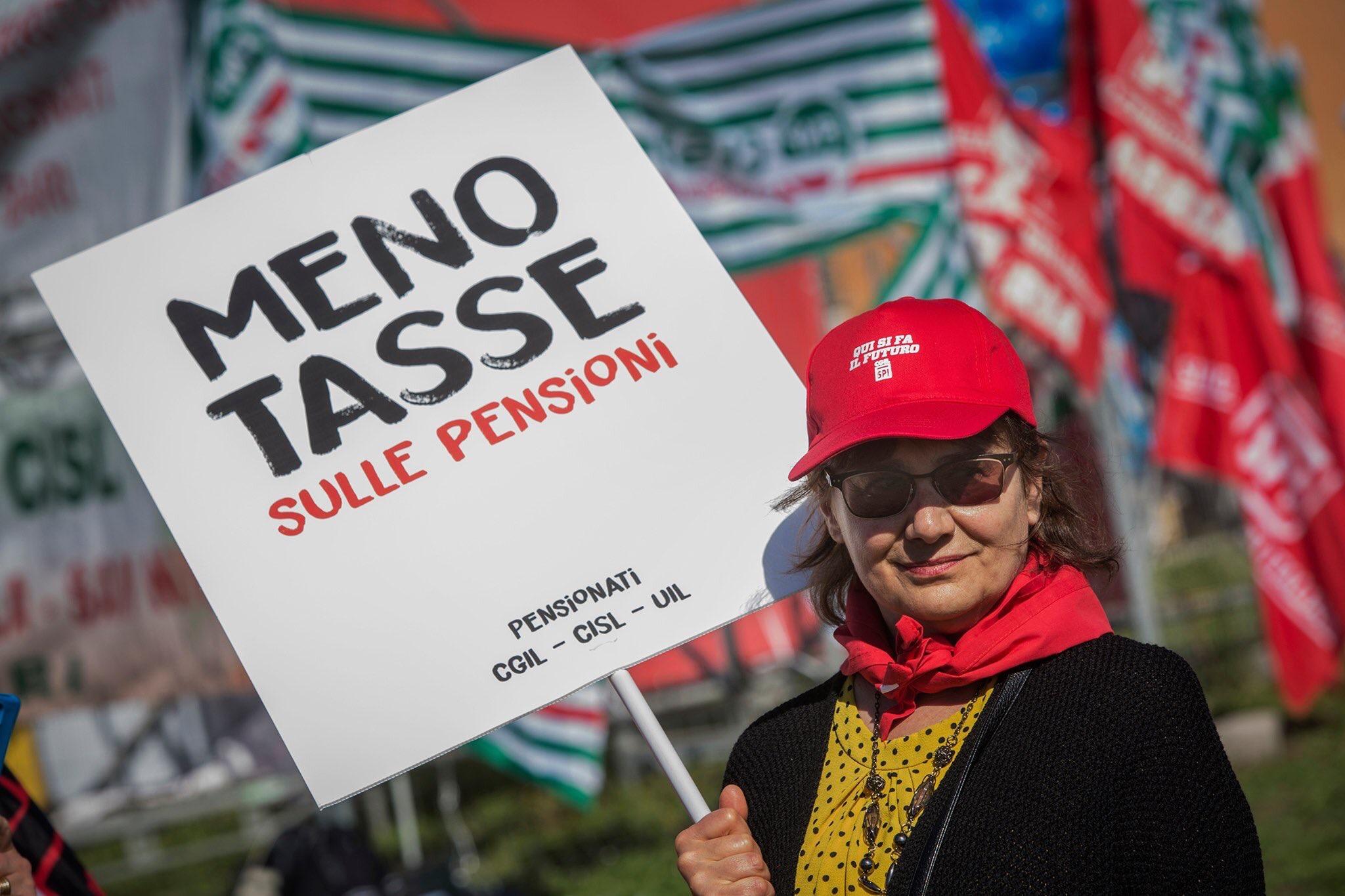 Manifestazione pensioni