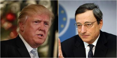 Economia ultime notizie: è scontro tra Draghi e Trump