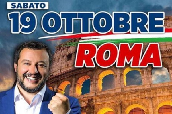 """Governo M5S-Pd: Salvini """"all'estero non sarebbe successa cosa del genere"""""""