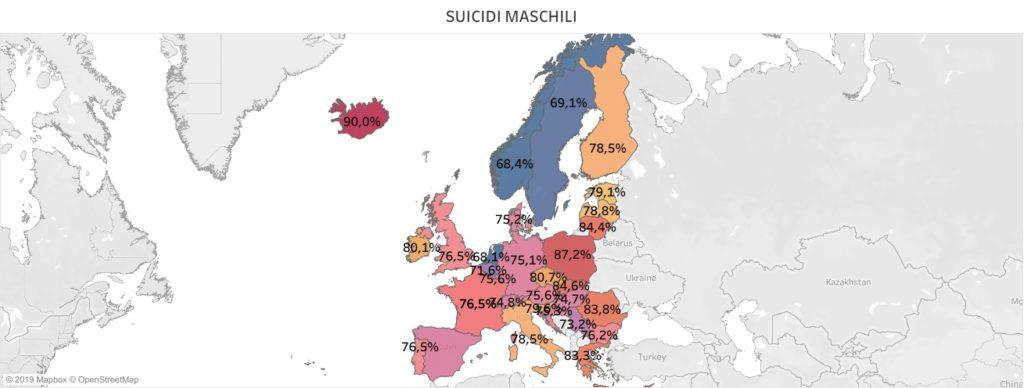 suicidi in Europa