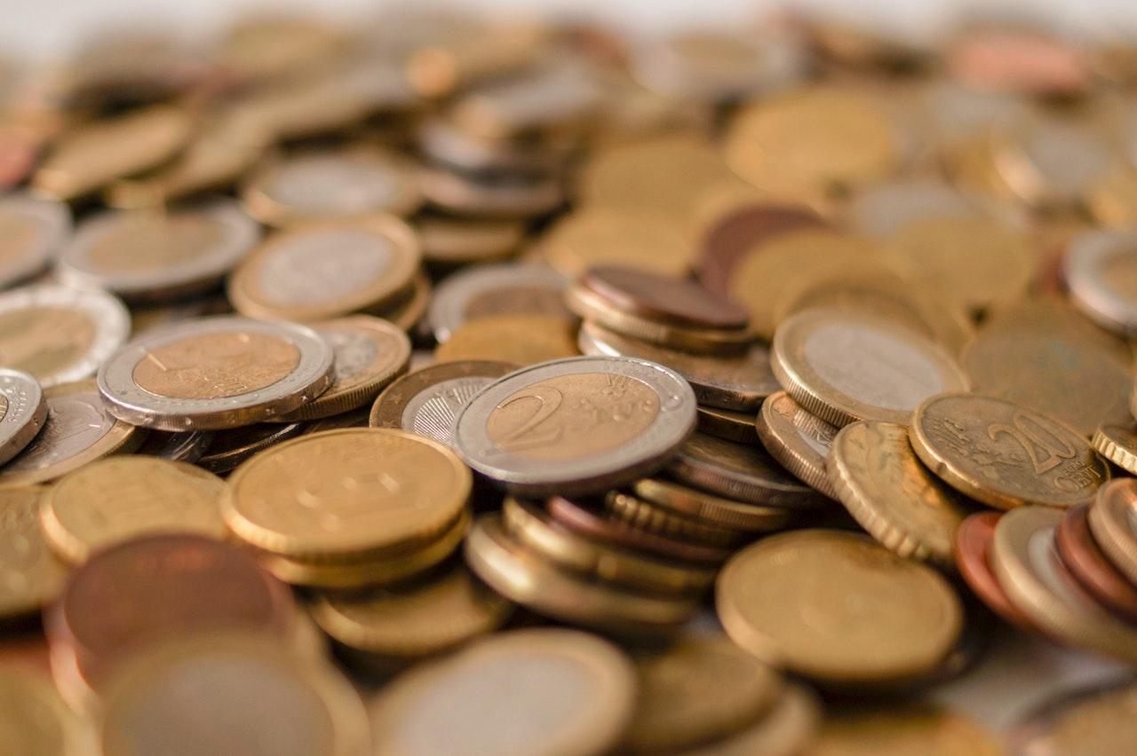 monete di vario taglio