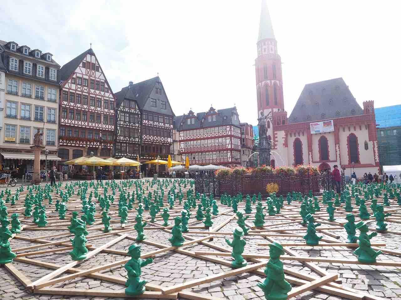 Germania: piazza Francoforte