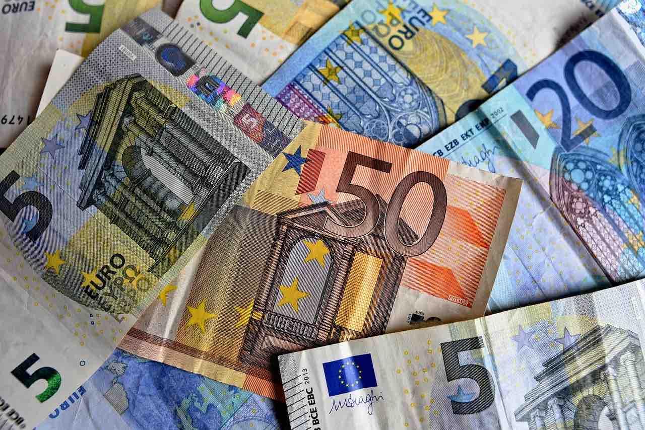 Banconote di vari tagli