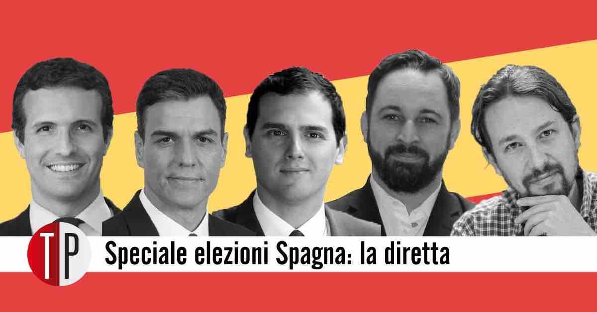 Volto leader partiti spagnoli
