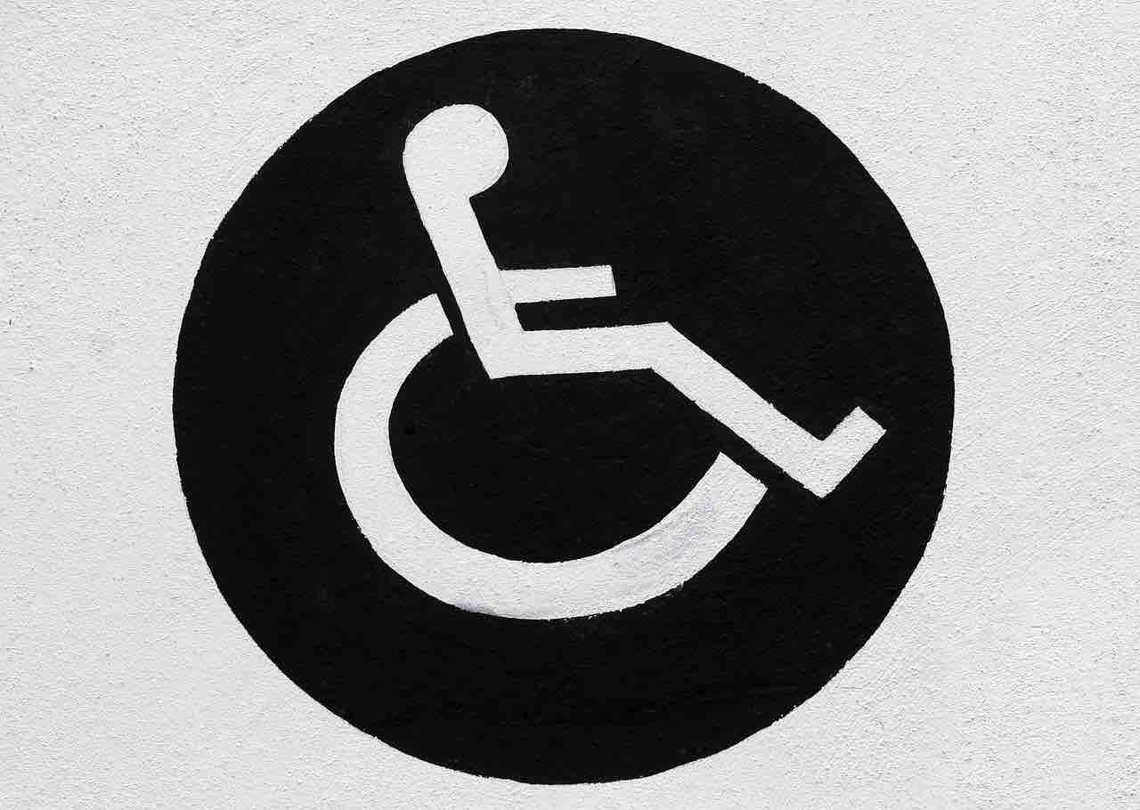 Logo portatore di handicap