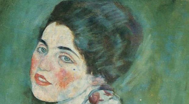 ritratto di signora di klimt, la storia