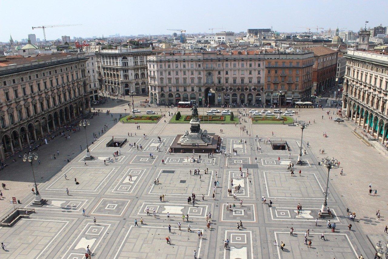 Strage Piazza Fontana dinamica