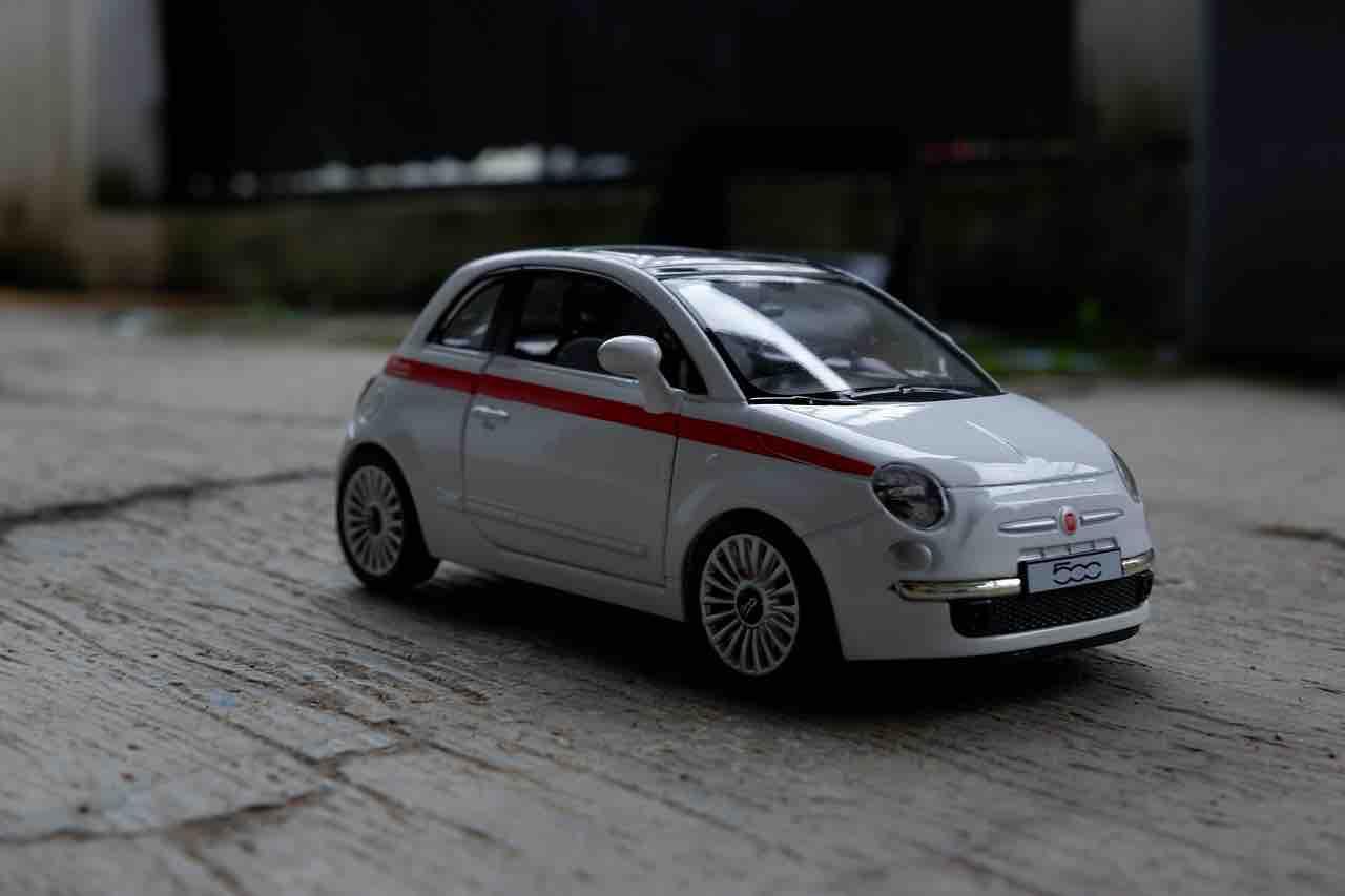 Modellino 500 Fiat
