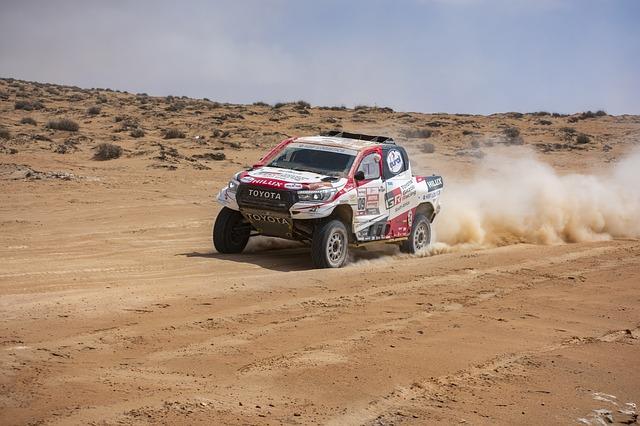 Auto nel deserto