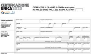 Certificazione unica 2020 su NoiPa: scadenza e quando sarà o