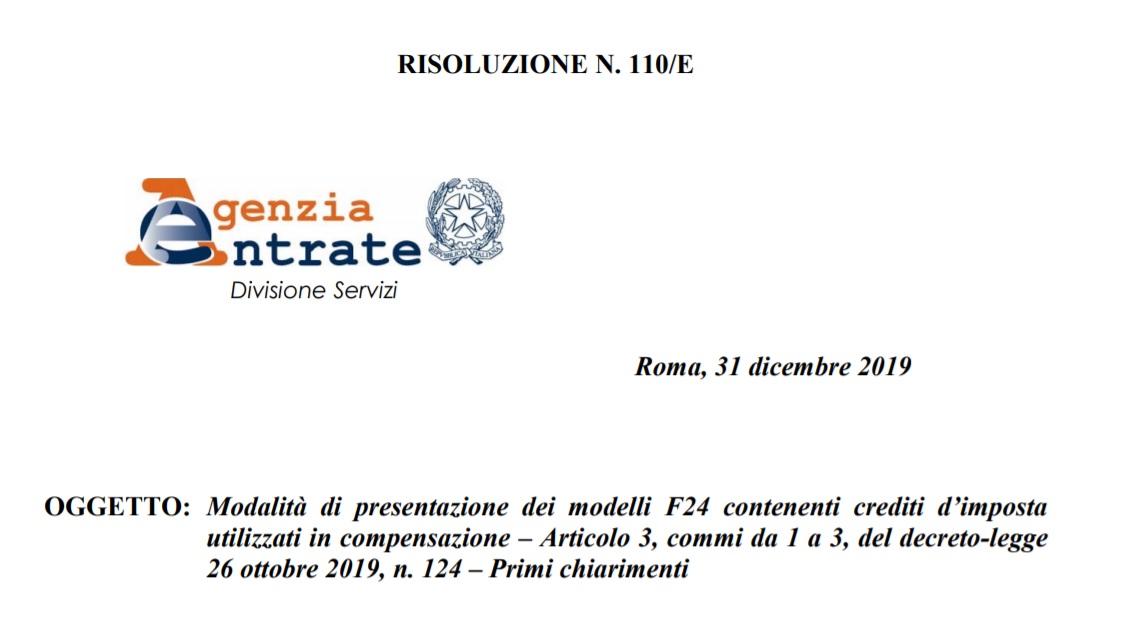 F24 compensazione oltre 5000 euro