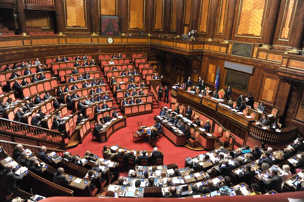 Aula del Senato della repubblica